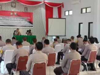 Pelatihan Binmas Online Polres Selayar.