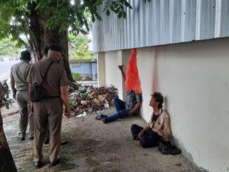 Pengemis di Jl. Sudirman Padang.
