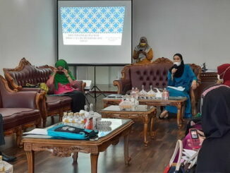 Rapat persiapan Bazar pasar mymurah TP PKK Bukittinggi.