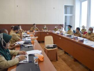 Rapat yang digelar Pemkab Solok.