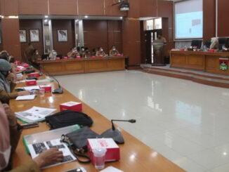 Sosialisasi Permen RB nomor 08 tahun 2021 di Pemko Bukittinggi.