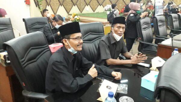 Anggota DPRD Kota Padang fraksi PKS, Pun Ardi dan Jafar.