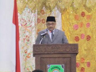 Bupati Benny Utama sat penyampaikan pertanggungjawaban APBD Tahun Anggaran 2020.