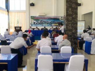 Rapat Forum Lalu Lintas dan Angkutan Jalan Provinsi Sumatera Barat, bertempat di obyek wisata Ciangkiak.
