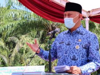 Gubernur Mahyeldi saat memberi sambutan.