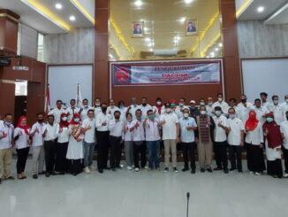 Inilah pengurus dan anggota DPC PAPPRI Bukittinggi yang dikukuhkan Wako Erman Safar.