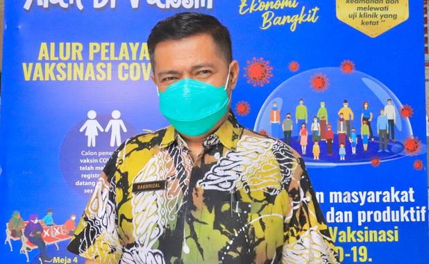 Kadis kesehatan kota Payakumbuh dr.Bakhrizal.