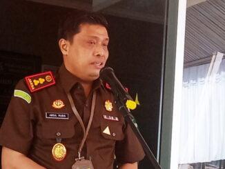 Kajari Sawahlunto Abdul Mubin.