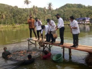 Kunjungan kerja Menteri Kelautan dan Perikanan ke Rao, Pasaman.