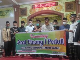 Launching program Arai Pnang I Peduli.