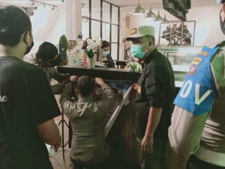 Operasi yustisi di Payakumbuh.