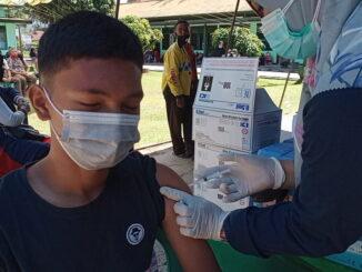 Pelaksanaan vaksinasi covid 19 di PT. Cendana Putra Lestari.