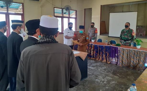 Pelantikan Pjs kepala Desa bertempat di Aula gedung nasional serbaguna kecamatan Sipora Selatan, Sioban.