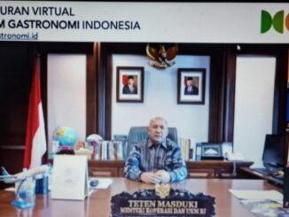 Peluncuran Virtual Museum Gastronomi Indonesia .