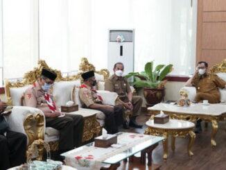 Pertemuan Pengurus Kwarcab Pramuka Bukittinggi dengan Wako Erman Safar.