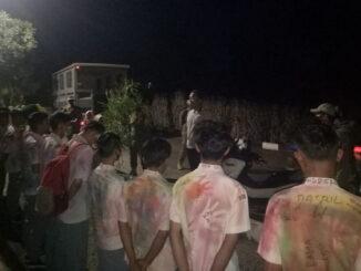 Siswa SMK dari Tanah Datar yang diamankan Satpol PP Kota Payakumbuh.