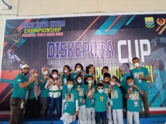 Tim Taekwondo Dojang Wirabraja Sport Center.