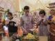 Uda Fe saat meluncurkan UF Enterprise - Decoration and Wedding Organizer.