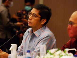Walikota Sawahlunto saat bertemu dengan Direktur Utama MIND ID dan Direktur Utama PT. Bukit Asam Tbk.