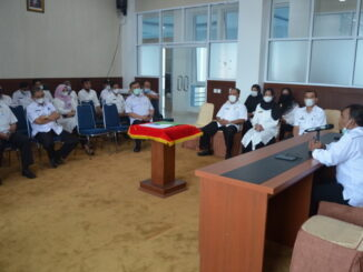 Acara sertijab di Kab. Solok.