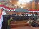 Bupati Epyardi Asda saat memberi sambutan.