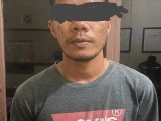 GT yang ditangkap Polsek Lintau Buo Utara.