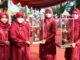 Kader TP-PKK Kab. Solok dengan tripo juara umum yang diraihnya.