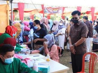 Mega Gebyar Vaksinasi di Kota Payakumbuh.