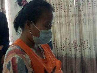 NA yang ditangkap Polres Padang Pariaman.