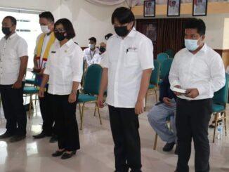 Pelantikan 4 Pejabat Baru Pemerintahan Kepulauan Mentawai