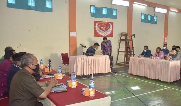 Pelatihan pencegahan dan mitigasi peningkatan PPKM di Kota Sawahlunto.