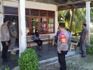 Penjemputan dirumah pasien yang terjangkit penyakit tersebut diwilayah Desa Sioban kecamatan Sipora Selatan kabupaten kepulauan Mentawai.