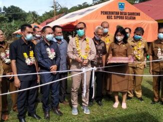 Peresmian dibukanya SMPN 03 sipora wilayah kecamatan Sipora Selatan Desa Saureinu kabupaten kepulauan Mentawai.