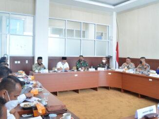 Rakor Pemkab Solok dengan Ormas Islam.