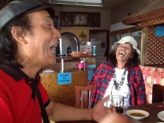 Salah satu adegan film pendek saat shotting di Padang.