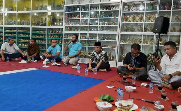 Silaturrahmi Wabup Solok dengan IKMP Denpasar, Bali.