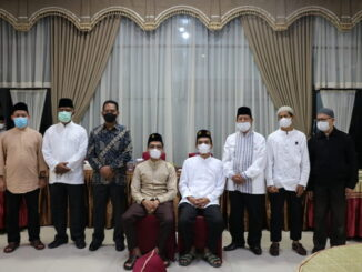 Kunjungan silaturahmi di Rumah Dinas Bupati Lima Puluh Kota.