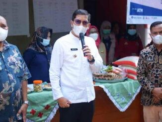 Walikota Sawahlunto memberikan pengarahan kepada PKH.