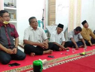 Anggota DPRD Kota Padang, Zulhardi Z Latif saat melakukan silaturahmi.