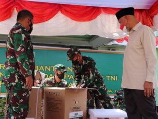 Bantuan dari Panglima TNI untuk Sumbar.