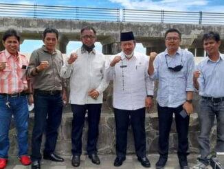 Bupati Agam bersama Ketua PPP Sumbar H. Hariadi, BE.