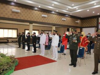 Forkopimda Kota Payakumbuh yang mengikuti pidato Presiden RI.
