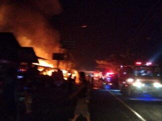 Kebakaran di Tanjung Pati.