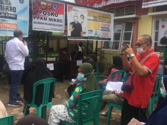 Pasar murah yang dilaksanakan Pemko Pyakumbuh.