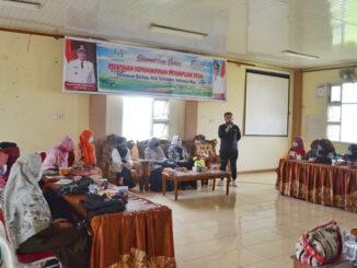 Pelatihan Koalisi Perempuan Indonedia di Kab, Solok.