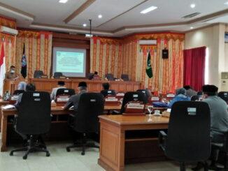 Rapat Paripurna DPRD Payakumbuh.