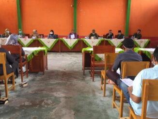 Rapat komite SMAN 1 Solok Selatan.