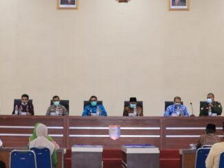 Rapat penanganan Covid-19 di Payakumbuh.