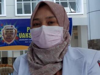 Sekretaris Dinas Kesehatan Kota Bukitinggi dr.Vera Maya Sari.