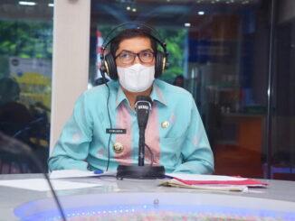 Walikota Sawahlunto, Deri Asta, SH jadi pembicara di Webinar.